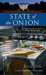 State Of The Onion By Julie Hyzy English Mass Market Paperback Book Free Shipp
