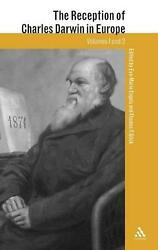 The Reception of Charles Darwin in Europe 2-Volume Set by Eve Marie Engels (Eng