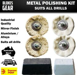 Metal Polishing Kit For Cars Boats Hot Rods Classics - Mag Wheels / Engine Parts