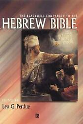 The Blackwell Companion To The Hebrew Bible By David Perdue English Paperback