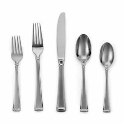 Gorham Column Frosted 18/10 Stainless 40pc Flatware Set