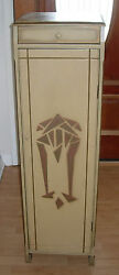 Vintage Oscar Onken Store Display Cabinet Modern Abstract C. 1920and039s Art Deco