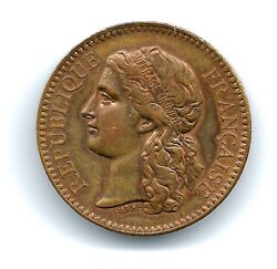 France Womenandrsquos Suffrage Medal Currency Administ. Paris Universal Ex. 1878 M.16a
