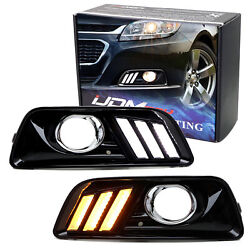 Direct Fit Switchback LED Daytime Running LightTurn Signal For Chevy Malibu