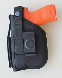 Hip Holster For Sd9ve Sd40ve With Underbarrel Laser Mounted On Gun