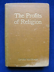 Profits Of Religion Signed By Upton Sinclair To Silent Film Star Charlie Chaplin