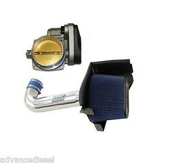 05-12 Dodge Charger And Challenger Bbk Chrome Cold Air Intake And 85mm Throttle Body