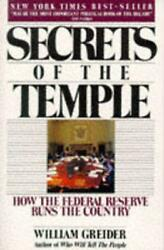 Secrets Of The Temple How The Federal Reserve Runs The Country By William Greid