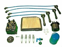Tune Up Kit Fits Honda Civic 1988 To 1991 1.6l Filters Cap Rotor Pcv Plugs Wires