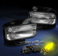 1999-2004 Ford F150/f250 Sd/2001 2002 Expedition Bumper Chrome Fog Lights+3k Hid