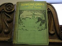 1898 Lawn Bowling Bocce Antique Illustrated Book Sports Games Victorian Binding
