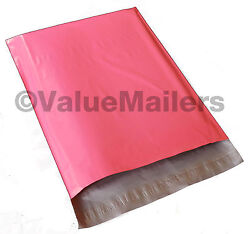 500 14x17 Pink Poly Mailers Shipping Envelope Couture Boutique Quality PINK Bags $79.95
