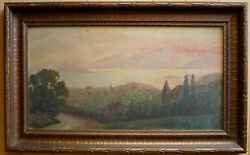 Mary E. Powell Listed Antique Impressionism Early Mi Impressionist Plein Air Oil