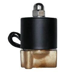 1/4npt Brass Valve Electric Solenoid For Train Horn Fast Air Ride Suspension