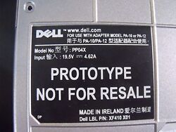 First Production Prototype Dell Precision M65 PP04X Own a Piece of History