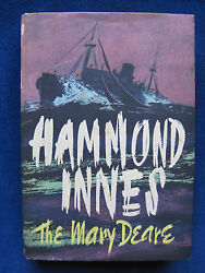 THE MARY DEARE - SIGNED & INSCRIBED by HAMMOND INNES to His Wife - wi Bookplate