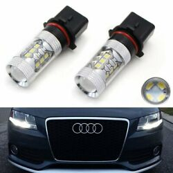 Xenon White 80w P13w Cree Led Bulbs For Audi A4 Q5 Daytime Running Lights Drl