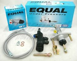 Exedy Slave Master Cylinder amp; Stainless Clutch Line Kit 1994 2001 Acura Integra $80.00