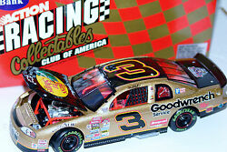 98 Dale Earnhardt 3 Bass Pro Shops Goodwrench Monte Carlo 124 Action Rcca Bank