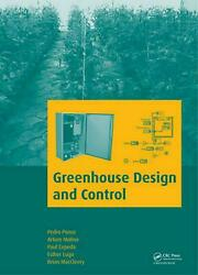 Greenhouse Design and Control by Pedro Ponce (English) Hardcover Book