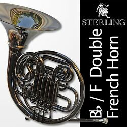 Black Nickel Sterling Bb/f Double French Horn Andbull Backpack Case Andbull Free Shipping Andbull