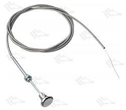 Universal Choke Cable 72 / 6' / 6 Ft Long - Installs In 3/8 Dia Mounting Hole