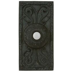 Craftmade Traditional Surface Mount Doorbell - Weathered Black - Pb3037-wb