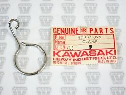 Kawasaki Nos New 92037-099 Cable Clamp S1 S2 S3 Kh Kh400 Mach Ii Mach I