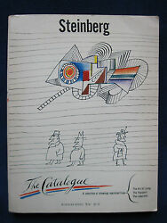 Collection Of Saul Steinberg Drawings Signed By Him To Director Billy Wilder