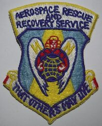60s Usaf Aerospace Rescue And Recovery Service Patch - That Others May Live