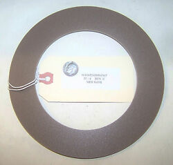 Us Navy Boat Triumph Electric Boat Endm67it4-e Nos Bearing Thrust Washer 6.9 Od