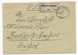 Germany Wurtt Oct 14 1946 From French Zone Extremely Rare Cover Mi 1-13 Type Ii