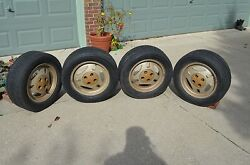 Trx Wheels And Caps Fits 79 80 81 82 And 83 Ford Mustang Or Mercury Capri