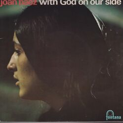 Joan Baez With God On Our Side + 2 Uk Maxi 45 Import With Picture Sleeve