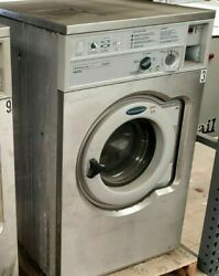 Wascomat Front Load Washer Coin Op 20lb, 208-240v 3ph 60hz, Model W620 [ref]