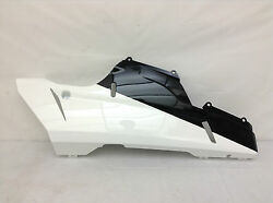 New Ducati 1198s Superbike Right Lower Half Fairing Cowl Black And White 80