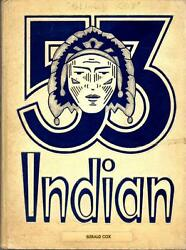 Anderson High School Indiana 1953 Yearbook Annual