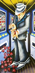 Yuval Mahler Big Apples | Signed Giclee/canvas | Make An Offer | Others Avail