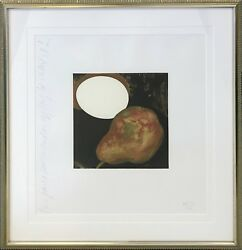 Donald Sultan 2 Pears A Lemon And An Egg 1994   Signed Print   Make An Offer