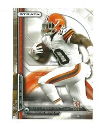 2014 Topps Strata Retail 103 Terrance West Rookie Browns