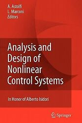 Analysis and Design of Nonlinear Control Systems: In Honor of Alberto Isidori (E