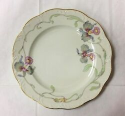 Rosenthal Classic Rose Orchid Blossom Ivory Monbijou Salad Plate 7 3/4 Germany