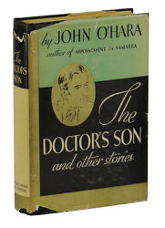 The Doctorand039s Son John Oand039hara First Edition 1st Printing 1935 Dust Jacket