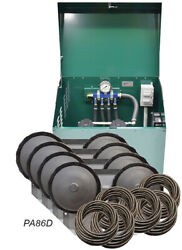 Rocking Piston 3/4 Hp Pond Aeration System With Diffusers Tubing Cabinet Pa86d