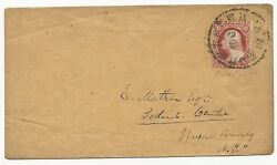US Scott #11 Tied on Cover by Black Rochester NY CDS