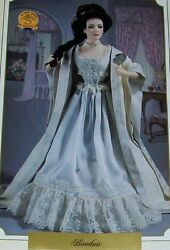 1989 Franklin Mint Gibson Girl Boudoir Doll +all Accessories Mib Never Displayed
