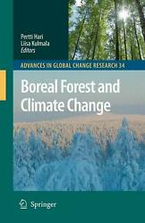 Boreal Forest and Climate Change (English) Hardcover Book Free Shipping!