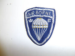 B5702 Wwii Oss Chinese Commandos Airborne Hand Embroidered Patch C20a9