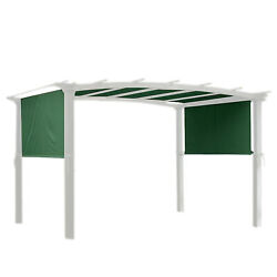 17x6.5ft Pergola Canopy Replacement Cover Outdoor Yard Patio Green Uv20+ 180g