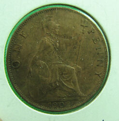 Great Britain 1902 One Penny About Unc